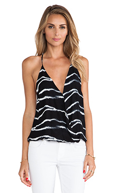 Karina Grimaldi Andy Printed Tank in Black Kenya