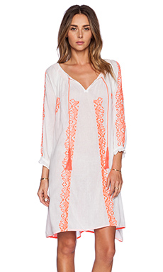 K A S New York Batari Dress in White