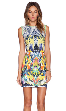 K A S New York Yuia Mini Dress in Multi