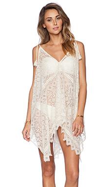 K A S New York Zulaika Lace Dress in Ivory