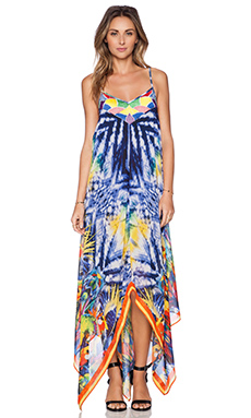 K A S New York Doto Maxi Dress in Multi