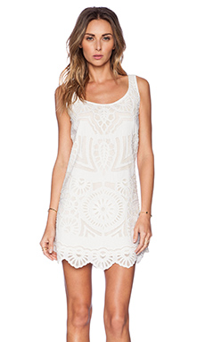 K A S New York Sanjana Mini Dress in White