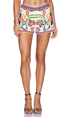 K A S New York Maelle Sequin Short in Multi