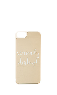 COQUE POUR IPHONE SERIOUSLY DARLING