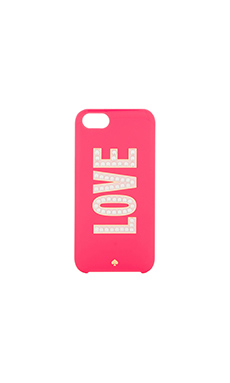kate spade new york Love iPhone 5 Case in Deco Rose