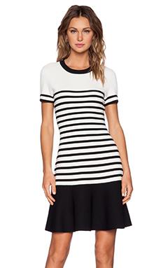 kate spade new york Suba Stripe Dress in Open White