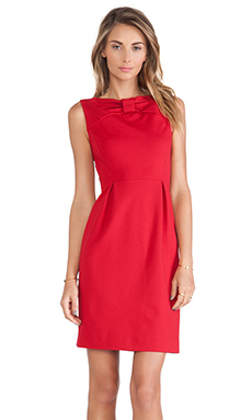 Kate Spade New York Bow Tie Sheath Dress in Dynasty Red