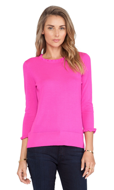 Kate Spade New York Bekki Sweater in Vivid Snapdragon