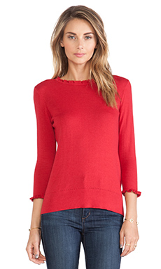 Kate Spade New York Bekki Sweater in Dynasty Red