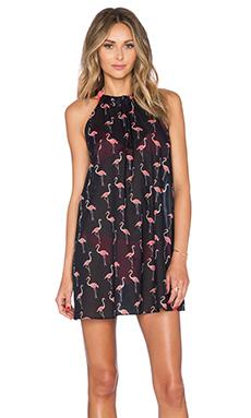 kate spade new york Playa Flamingos Cover Up in Black