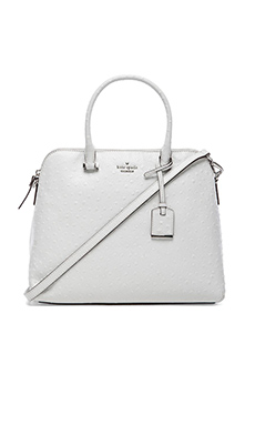 kate spade new york Margot Satchel in Bright White