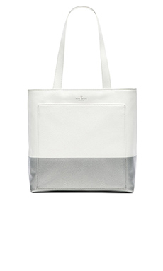 kate spade new york Andrea Tote in Galaxy & Silver