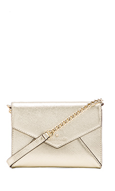kate spade new york Monday Crossbody in Gold