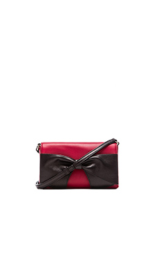 kate spade new york Aster Crossbody in Dynasty Red & Black
