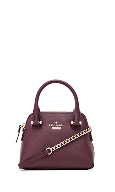 kate spade new york Mini Maise Crossbody Bag in Mulled Wine