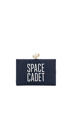 kate spade new york Jett Clutch in Night Sky Glitter