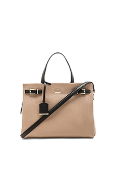kate spade new york Olivera Satchel in Rose Putty