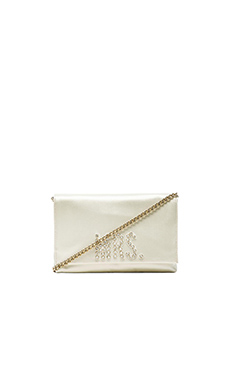 kate spade new york Wedding Belles Gena Clutch in Mrs
