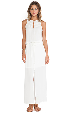 krisa Keyhole Maxi Dress in Ivory