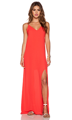 krisa Cami Maxi Dress in Lipstick