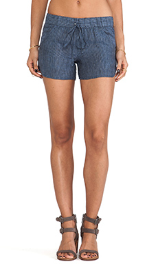 krisa Stripe Shorts in Indigo