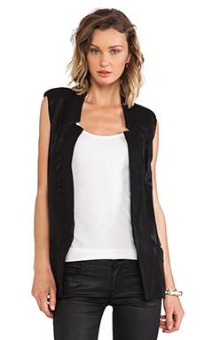 krisa Tunic Vest in Black