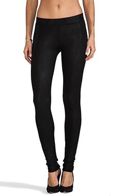 krisa Coated Legging in Black