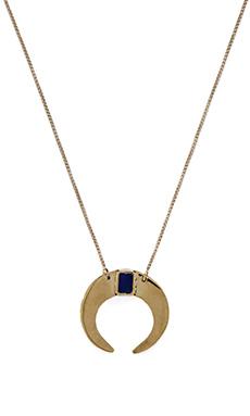Karen London Kashimir Necklace in Brass