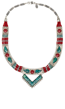 Karen London Bodhi Necklace in Silver