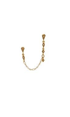 Karen London Diamond Double Earring in Gold