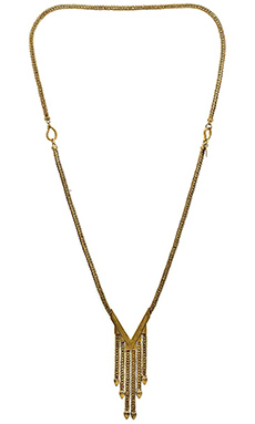 Karen London Rivers Necklace in Gold