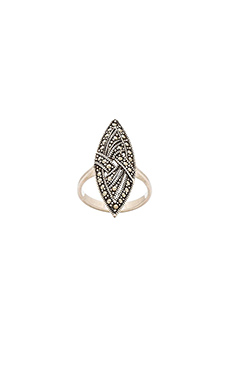 Karen London Diamond Eye Ring in Silver
