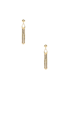 Karen London Siouxsie Earrings in Brass