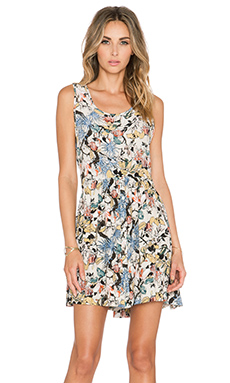 Knot Sisters April Dress in Floral