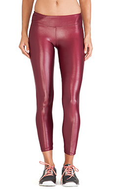 koral activewear Lustrous Legging in Ruby
