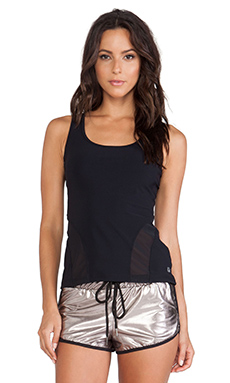 koral activewear Accelerate Tank in Black & Black