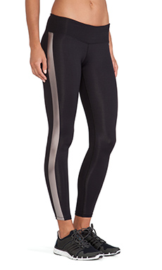 koral activewear Cosmic Legging in Black & Bronze