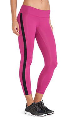 koral activewear Dynamic Duo Legging in Bloom & Black