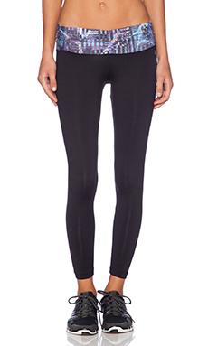 koral activewear Mesmerize Legging in Mezzo & Black