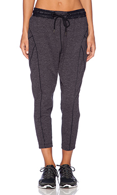 koral activewear Stealth Warm Up Pant in Hail & Black