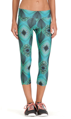 koral activewear Synergy Capri Legging in Oasis