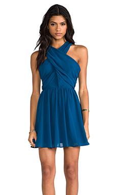 keepsake Heartlines Dress in Turquoise