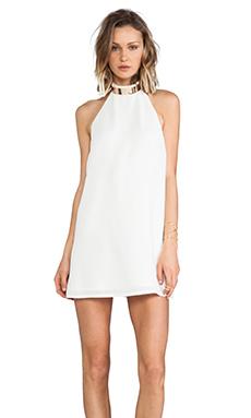 keepsake Reckless Mini Dress in Ivory