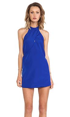keepsake One More Night Dress in Cobalt
