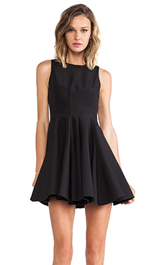 keepsake All Through the Night Dress in Black