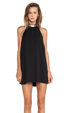 keepsake Reckless Mini Dress in Black