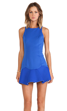 keepsake Love Lies Dress in Ultra Blue