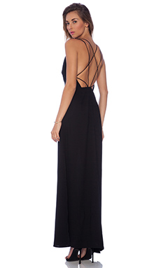 keepsake More Than This Maxi Dress in Black