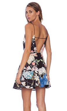 keepsake Same Love Mini Dress in Black Diamond Floral