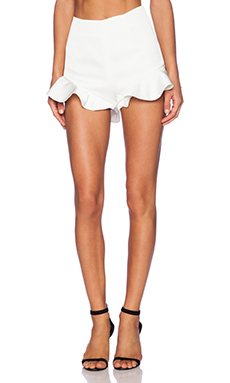 keepsake Follow The Sun Shorts in Ivory
